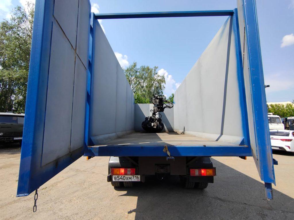 КамАЗ 65115 ломовоз, 2012, синий фото 14
