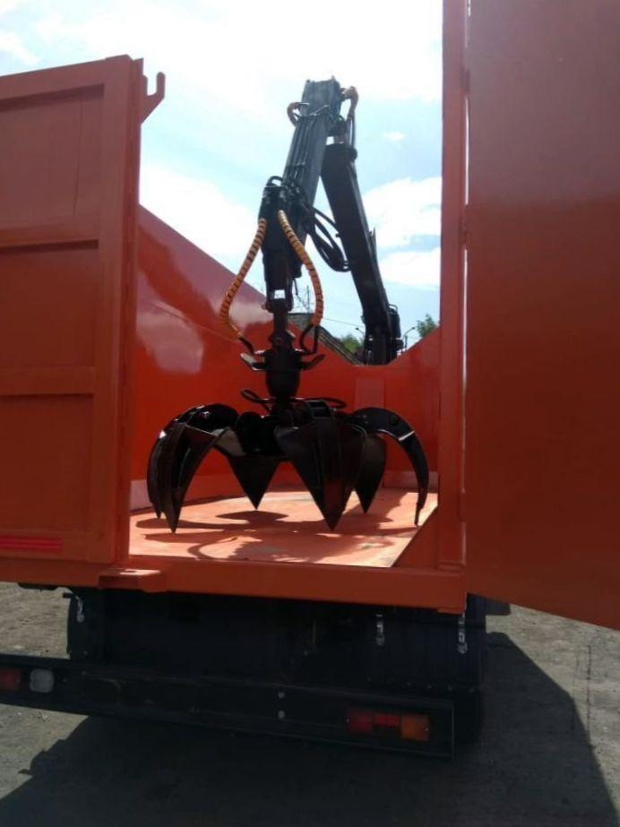 КамАЗ 65115 ломовоз, 2012, оранжевый фото 12
