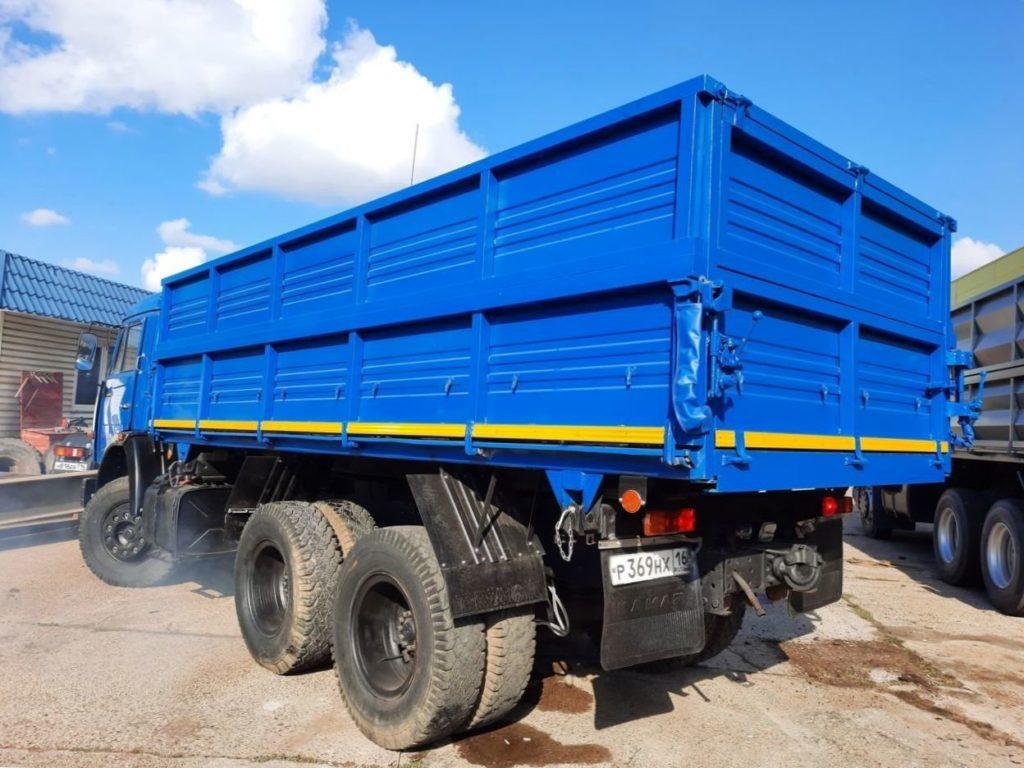 КамАЗ 45143 сельхозник, 2019, синий фото 9
