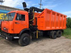 КамАЗ 65115 ломовоз, 2012, оранжевый бу фото