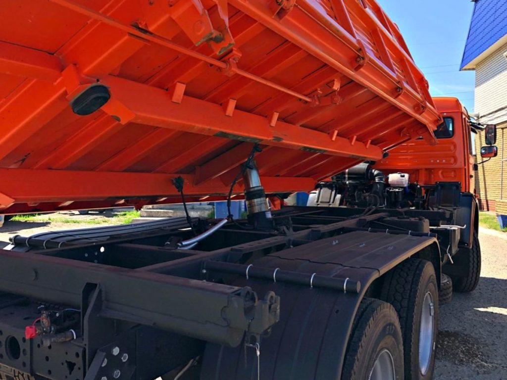 КамАЗ 45143 сельхозник, 2012, оранжевый фото 14