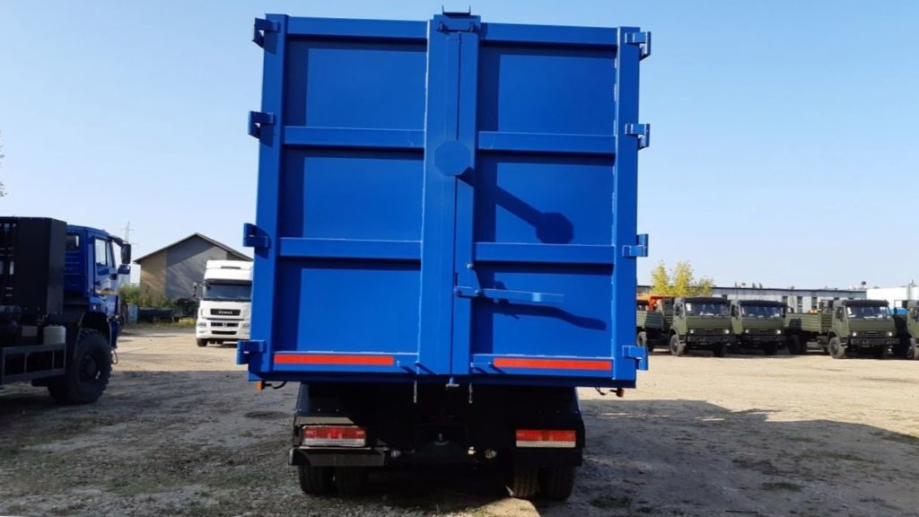 КамАЗ 65115 ломовоз, 2011, синий фото 7